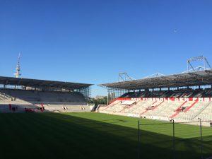 Das Stadion des FC St. Pauli